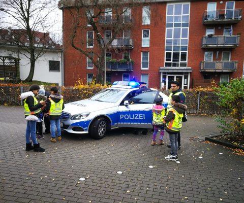 Die IVK3/4 zu Besuch bei der Polizei